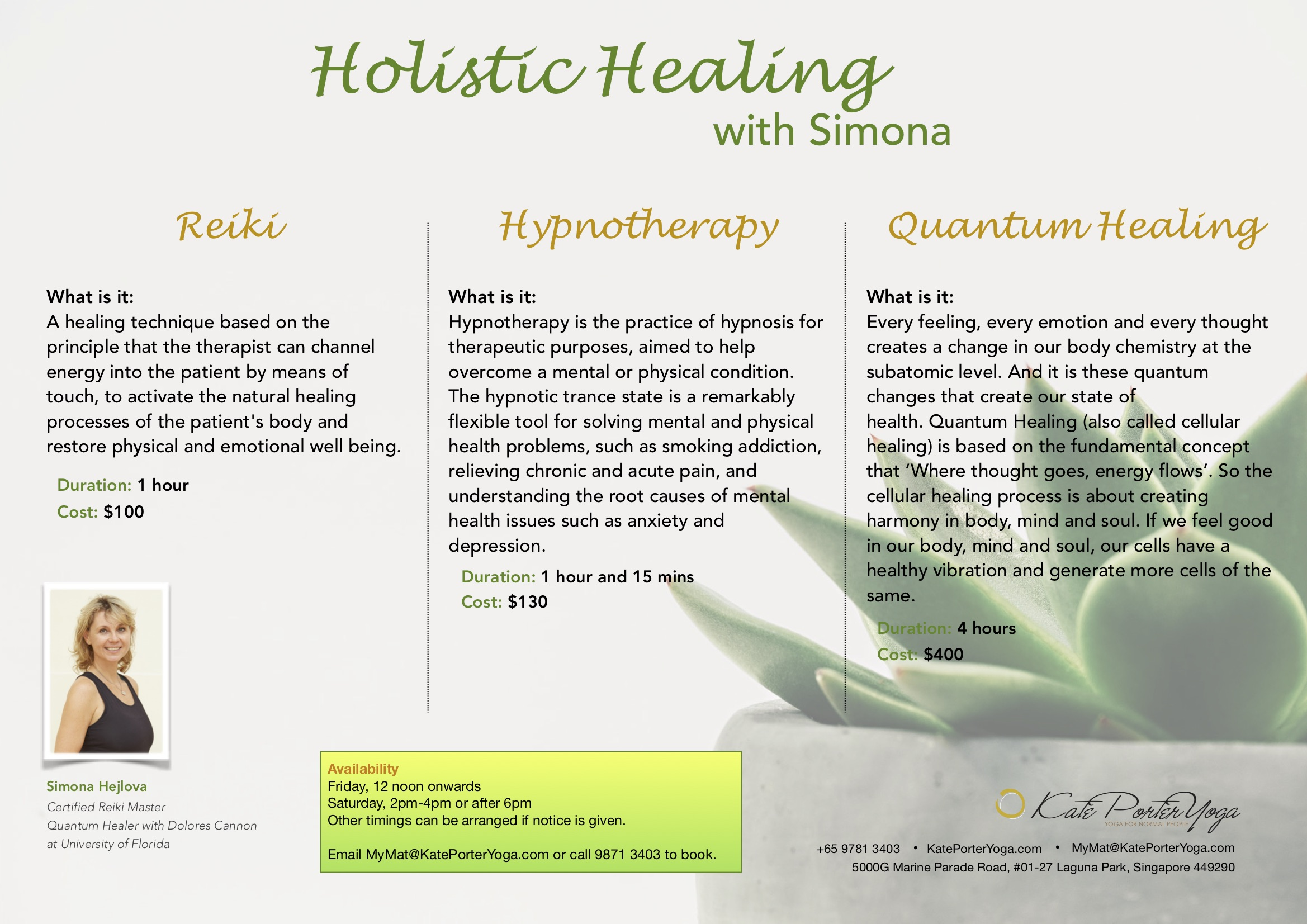Holistic Healing with Simona