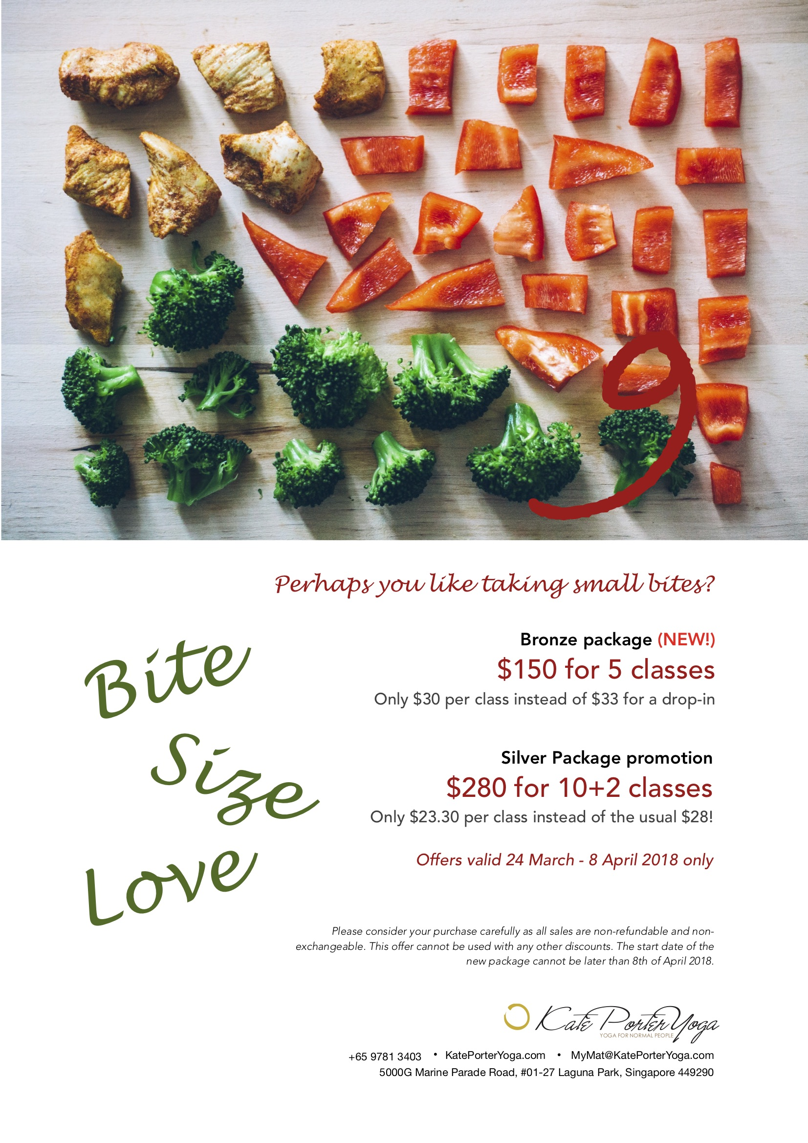 Promo - Bite size packages